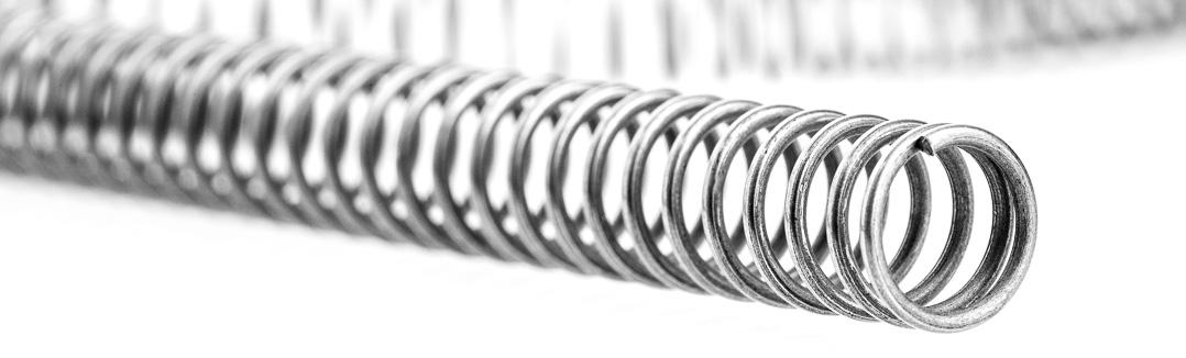 Druckfederstrang aus Federstahldraht Detail Hersteller Beck   Alfred ...